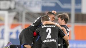 Paderborn gewinnt die wichtigen Spiele