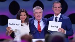 IOC beschließt Doppelvergabe an Paris und Los Angeles