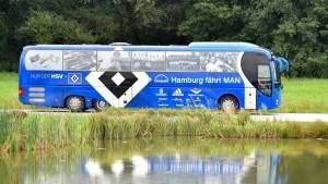Chauffeur-Service beim Hamburger SV