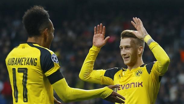 Dortmund rennt Real doch noch davon