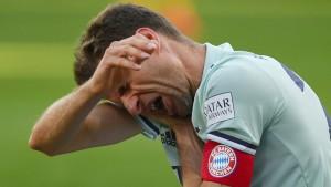 Die Bayern stolpern im Titelrennen