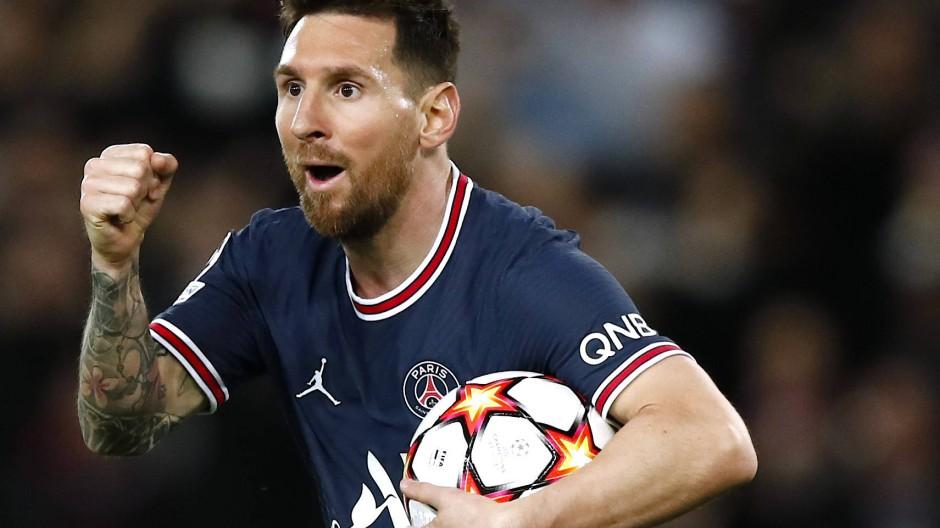 Machte für seine Mannschaft den Unterschied: Paris-Profi Lionel Messi
