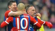 Bayern feiern standesgemäß Geburtstag