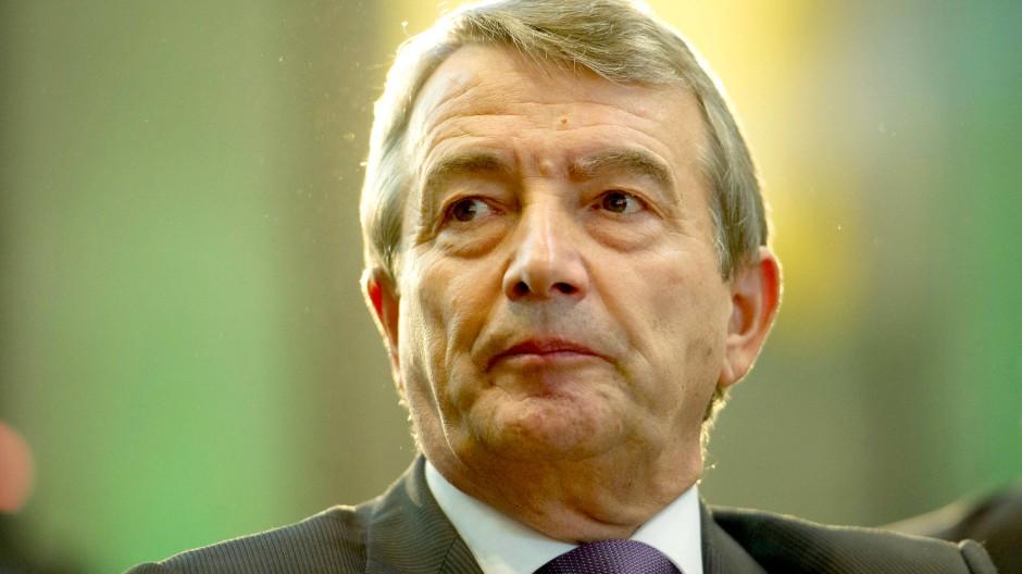 Viele Fragen, keine Antworten: DFB-Präsident Wolfgang Niersbach.