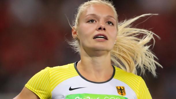 Lisa Mayer sprintet mit Bestzeit zur Olympianorm