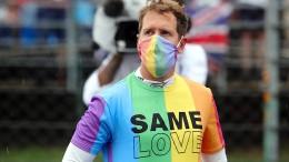 Regenbogen-Shirt hat Folgen für Vettel