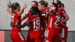 Bayern-Frauen schlagen Wolfsburg
