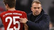 Keine Veränderungen im Kader vorgesehen: Bayern-Trainer Hansi Flick
