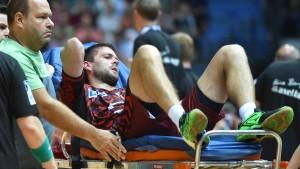Handballspieler Vukovic im Glück