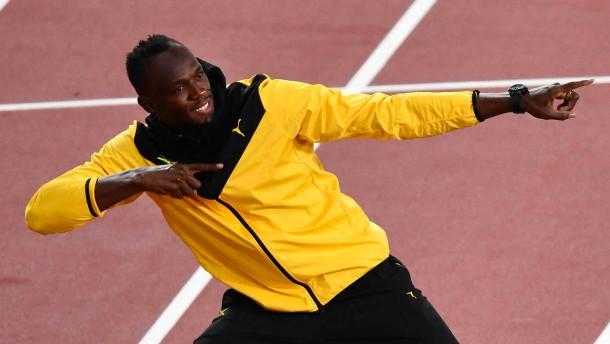 Bolt und seine emotionalen Schlussworte