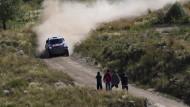 Nasser Al-Attiyah führt nun auch in der Gesamtwertung der Rallye Dakar
