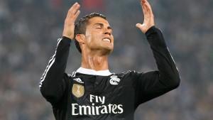 Zwei Volltreffer von Ronaldo reichen nicht