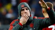 """Man weiß nie, was im Leben passiert"": Franck Ribéry."