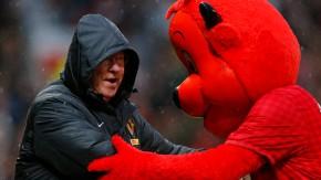 Am Ende war Trainer Ferguson doch wieder versöhnt