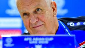Syrien entlässt Trainer Stange mitten im Turnier