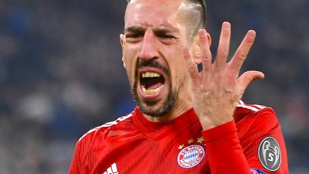 Hohe Strafe vom FC Bayern für Ribérys Ausraster