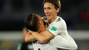 Real Madrid wird Favoritenrolle gerecht