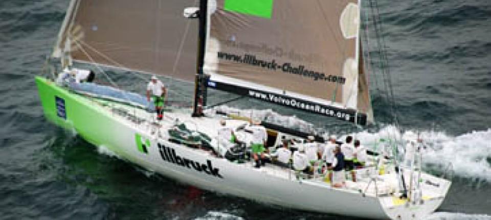 Volvo Ocean Race Illbruck Wieder Im Wind Und In Fuhrung Sport Faz
