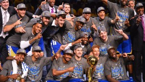 Golden State Warriors am Ziel
