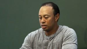 Woods an der Wegscheide seines Lebens