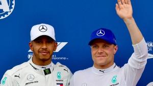 Auch Bottas verlängert bei Mercedes