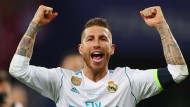 Umstrittener Sieger: Sergio Ramos gewinnt mit Real Madrid wieder die Champions League.