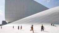 Haydar-Alijew-Center, Austragungsort der Europaspiele in Baku: Die Mär vom unpolitischen Sport