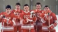 Eishockey vom roten Stern