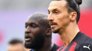 Diesmal klatscht sogar Ibrahimovic für Lukaku