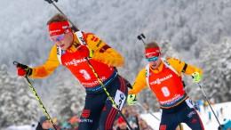 Konkurenz belebt das deutsche Team