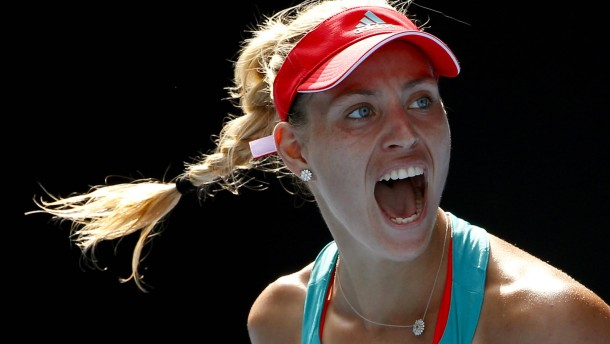 Kerber will nun Grafs Grand-Slam-Rekord verteidigen