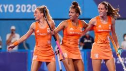 Deutsche Hockey-Frauen nun gegen Argentinien