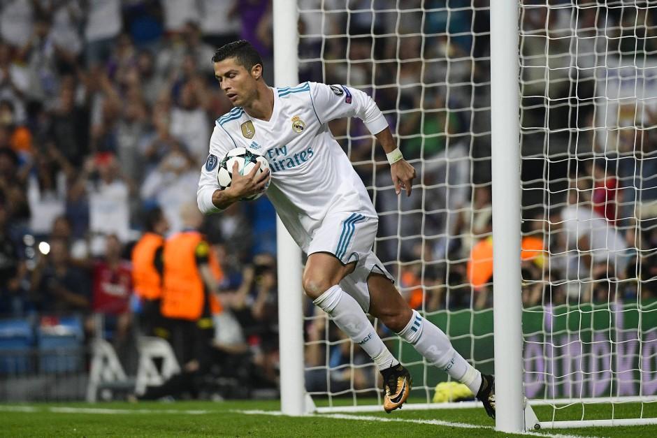 Alles im Griff:  Real Madrid und Cristiano Ronaldo besiegen Apoel Nikosia