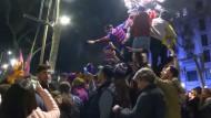 Barca-Fans feiern Fußball-Wunder