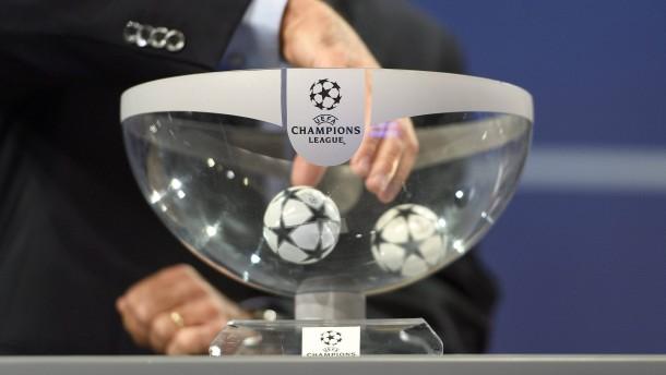 Die Champions-League-Auslosung