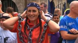 Marathon-Premiere in ehemaligem Gefängnis
