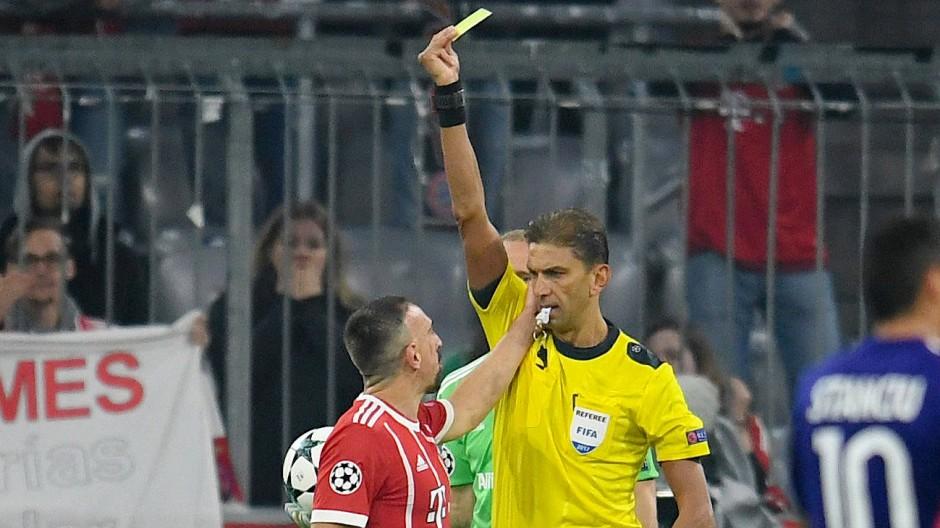 Ancelottis Erklärung: Ribéry hatte schon gelb.
