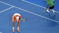 Zu chancenlos: Mischa Zverev unterliegt Roger Federer
