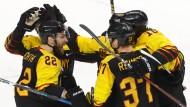 Die deutschen Eishockey-Spieler stehen sensationell im Halbfinale.