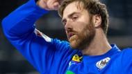 Unzufrieden in Ägypten: Handball-Torwart Andreas Wolff
