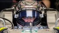 Richtig schnell unterwegs derzeit: Valtteri Bottas in Silverstone.