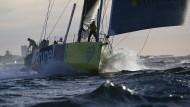 Grausame Stürme, monströse Wellen: beim Volvo Ocean Race gehören die Widrigkeiten des Wetters dazu