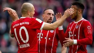 Die Bayern halten ihren Schnitt gegen den HSV