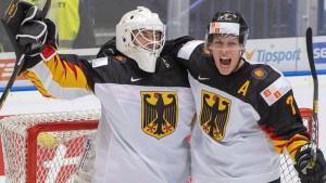 Deutschlands Eishockey-Nachwuchs begeistert