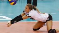 Meistens schon da, wenn ein Ball ankommt: Libera Lenka Dürr
