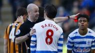 Wegweisend: Joey Barton sollte eigentlich wissen, was nach einer Roten Karte zu tun ist