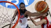 Vom Feinsten: Die Amerikaner um James Harden gewinnen das WM-Endspiel hochüberlegen gegen Serbien