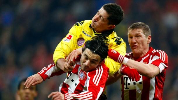 Lewandowski kann, Schweinsteiger und Mandzukic können nicht