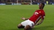 Dramatischer Sieg für Manchester United