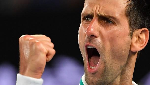 Djokovic ist wieder der König von Melbourne